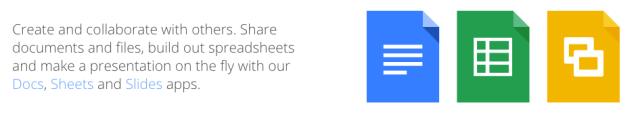 Google Drive - Header